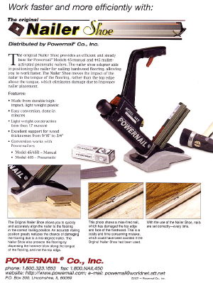 Where to find NAILER, HARDWOOD FLOOR AIR TYPE W  HAMME in Kingsport