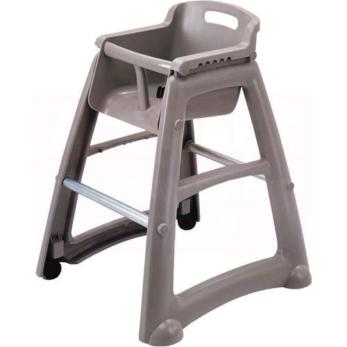 Where to find HIGH CHAIR   GRAY RESIN W TRAY in Kingsport