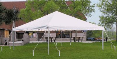 Where to find TENT, 15 X 15    WHITE    FRAME in Kingsport