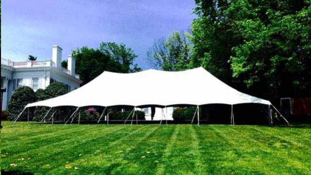 Where to find 20  SECTION  TO BUILD THE 40  POLE TENT in Kingsport