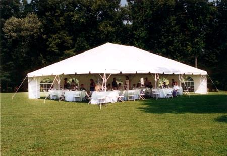 Where to find TENT, 30  X 30   WHITE   FRAME TENT in Kingsport