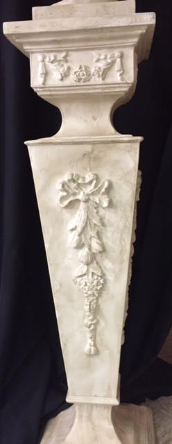 Where to find FRENCH  PEDESTAL   FAUX MARBLE 43  tall in Kingsport
