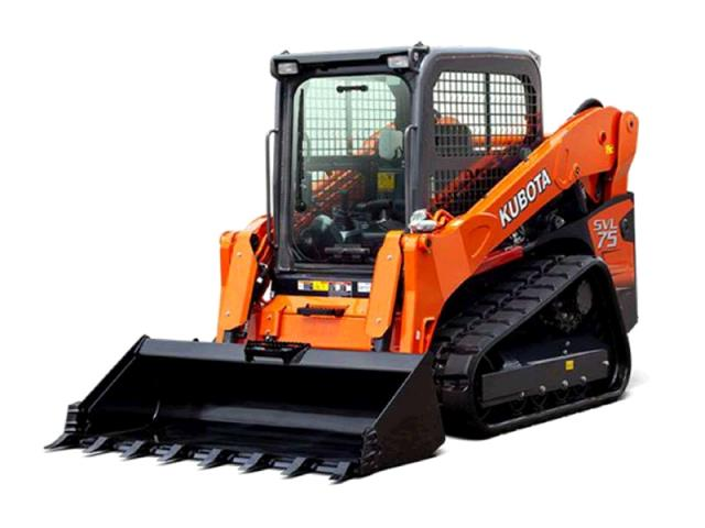 Where to find KUBOTA, TRACK LOADER SVL75 CLOSED CAB in Kingsport