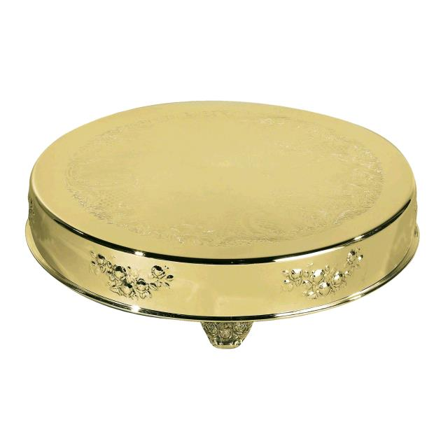 CAKE STAND 18 INCH RD BRASS Rentals Kingsport TN, Where to Rent CAKE ...