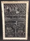 Rental store for CHALKBOARD  27 X 35   IVORY CRACKLED in Kingsport TN