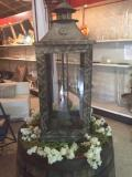 Rental store for LANTERN,  WOODEN  11 X30   CANDLE EXTRA in Kingsport TN