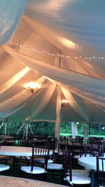 Where to find TENT DRAPING FABRIC  40X40  POLE TENT in Kingsport