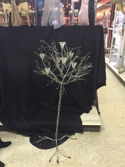 Where to find TREE, 5 FT. SILVER  7 VOTIVES  EXTRA in Kingsport