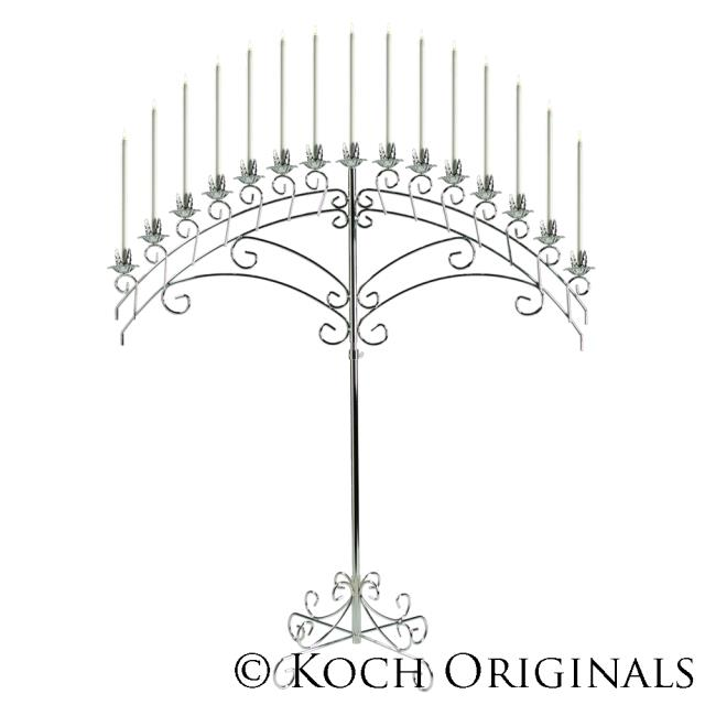 Where to find SILVER VEIN, 15 LITE ARCH  CANDELABRA in Kingsport