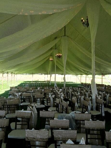Where to find TENT DRAPING  40  X 140   POLE TENT in Kingsport