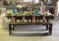 Rental store for RUSTIC   WOODEN  BENCH  FARM TABLE in Kingsport TN