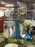 Rental store for TURQUOISE LARGE GLASS  VASE in Kingsport TN