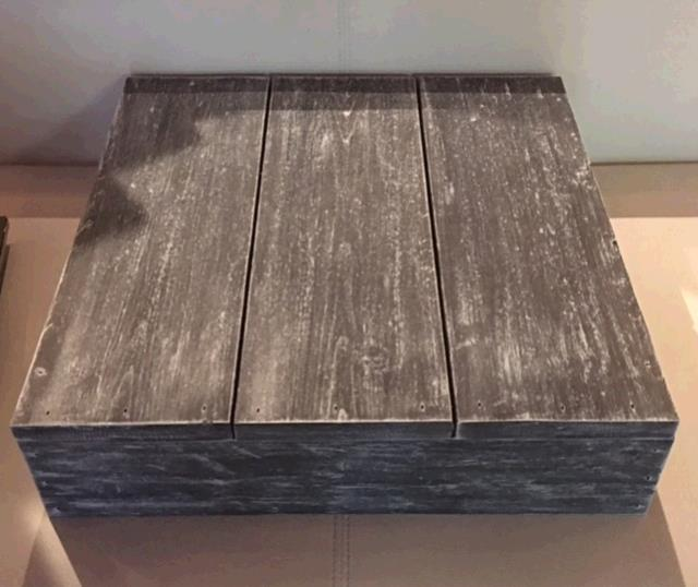 Where to find CAKE STAND  WOOD-GRAY   SQUARE  16 in Kingsport