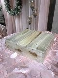 Rental store for CAKE STAND  NATURAL  14  SQ. WOODEN in Kingsport TN