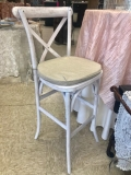 Rental store for X-BACK  WHITE WASH  BAR STOOL   CUSHION in Kingsport TN