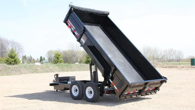 Where to find DUMP TRAILER LARGE-14 FT,  6 TON CAP in Kingsport