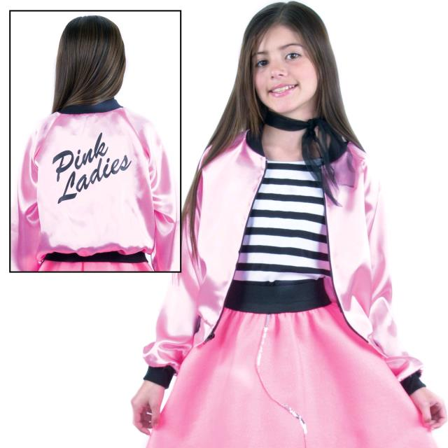 Party City Pink Ladies Jacket for Pinterest