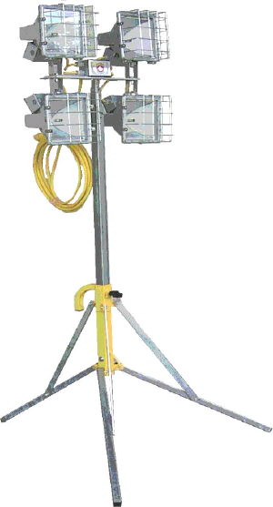 Where to find LIGHT, 7 FT MINI LIGHT TOWER 4-500 WATT in Kingsport