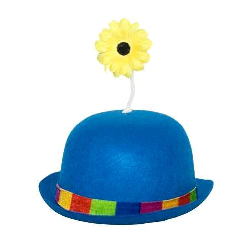 840465c7385 Where to find CLOWN DERBY HAT BLUE 05 in Kingsport